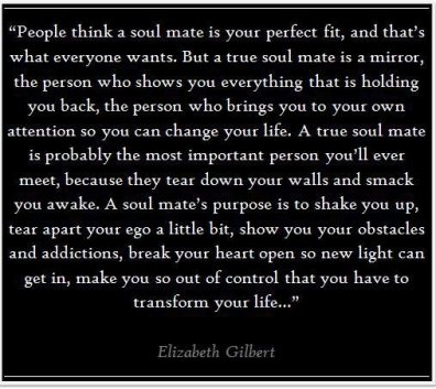 Elizabeth Gilbert on soul mates