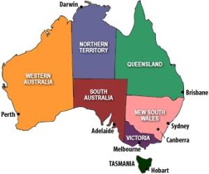 Australia-map-capitals
