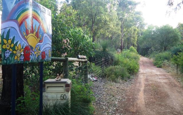 WFH sign driveway