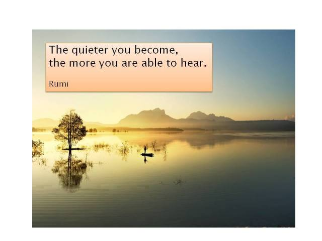 Rumi - the quieter