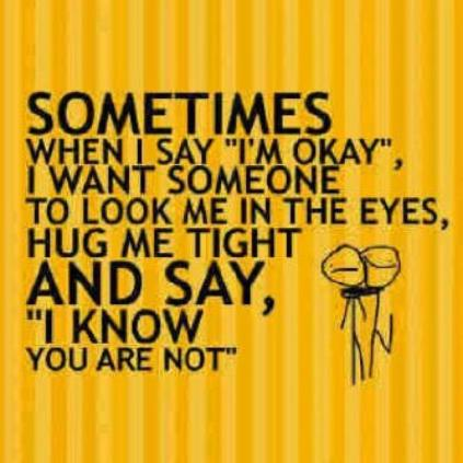 R U OK - I'm not
